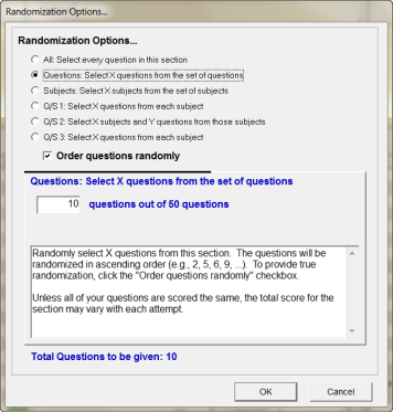 answer randomization2